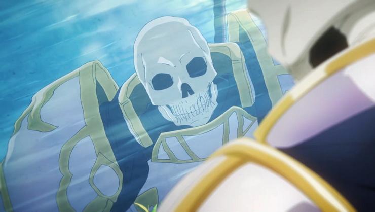 рыцарь скелет вступает в параллельный мир дата выхода серий