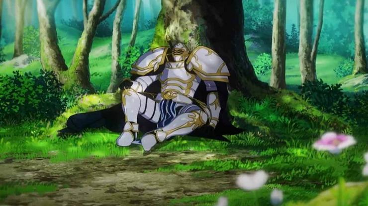 рыцарь скелет вступает в параллельный мир дата выхода аниме